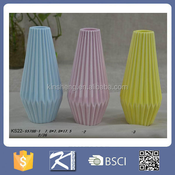 Hand made show piece ceramic decoration home decor vase for Home made decoration pieces