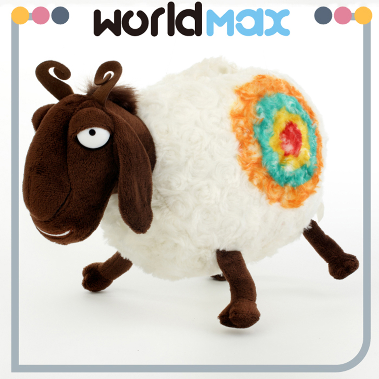 Competitive Price And Lovely Dragon Sheep Custom Baby Plush Toy