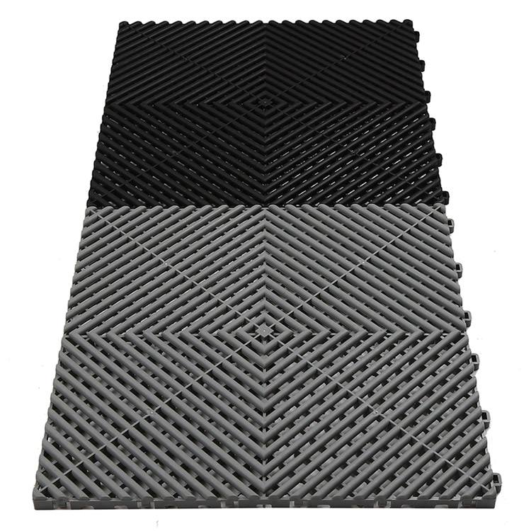 Easy Installation Garage Interlocking Pp Floor Tile Buy Garage