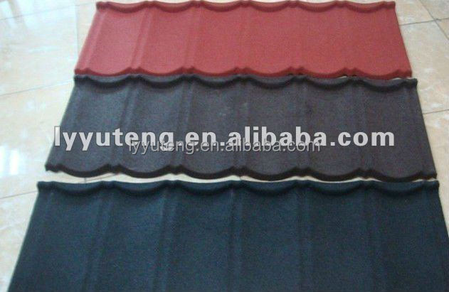 Noble/Luxious color stone coated metal roofing tile sheet /Sunlight/Jinhu/Fuda