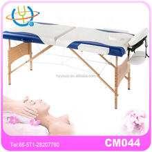 Salon Furniture Wooden Folding And Portable Sex Massage Table