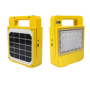 Portable mini LED travel light camping power bank family emergency 30W 50W solar rechargeable light