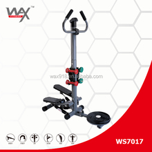 Sit-Down MiNi Stepper With Handle,Multifunctional Stepper With Dumbbell
