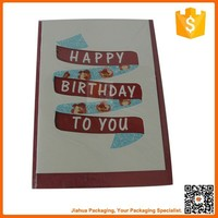 happy birthday handmade decoration greeting card