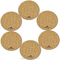 Printed Cork Coaster Sets,Cork Coaster Set Of 5