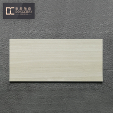 indoor outdoor brush cultured marble floor tile full body beige yellow travertine glazed marble tile