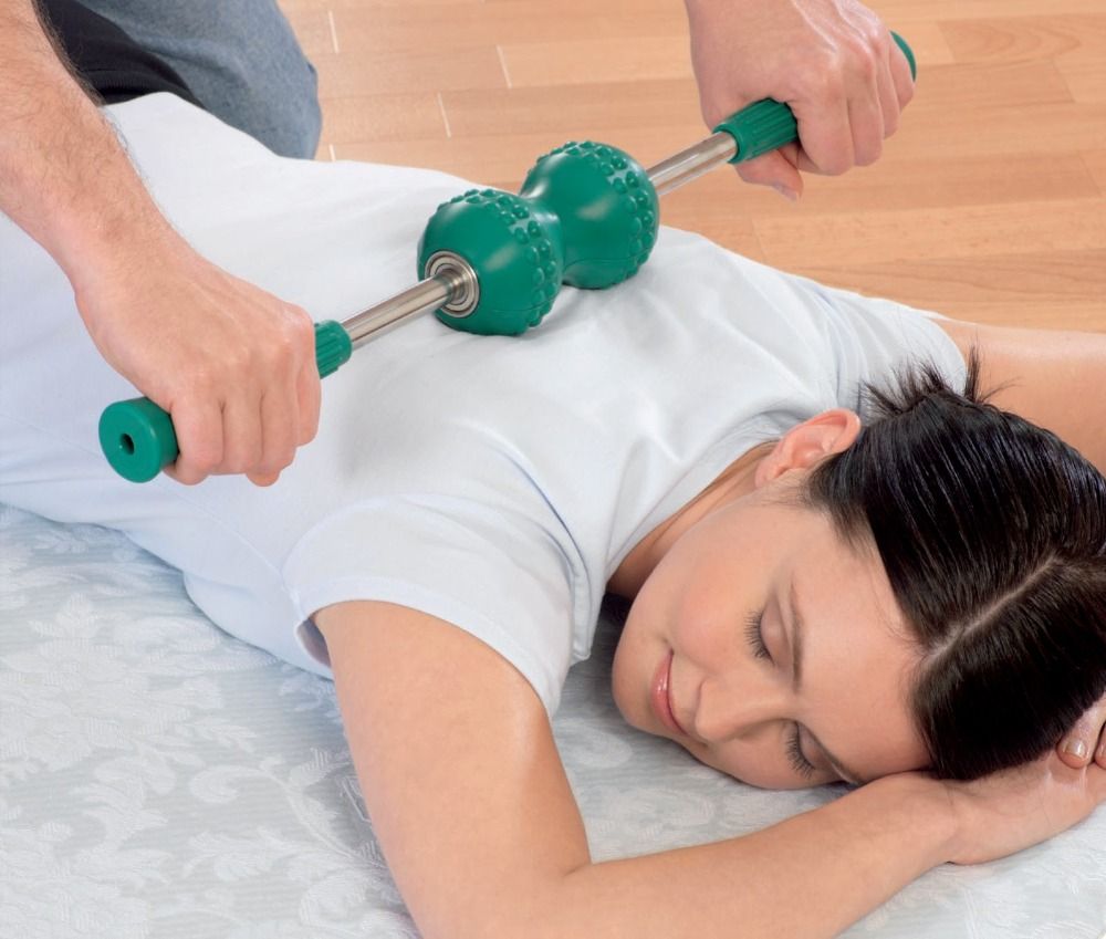 handheld magnetic massage sciatica roller for pain relief