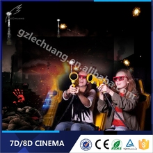 Easy Operate High Profit 3D Glasses 6/9/12 Seats Free Hot Movies