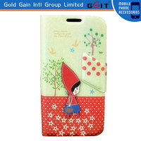 Leather Cover Case For Samsung S4 i9500, Flip Case For Galaxy S4 i9500