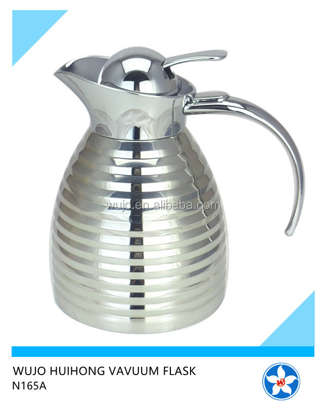 N165A Stainless Steel Pot Ss Mug Insulated Thermos Coffee Pot