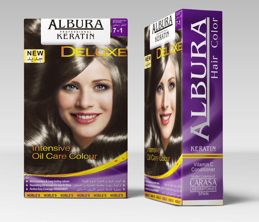 ALBURA hair color
