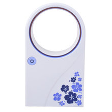 Hot Electric Desktop Handheld Rechargeable Portable Air Conditioner cooler No Leaf USB Mini <strong>Fan</strong> Bladeless <strong>Fan</strong> For Home