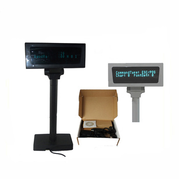 VFD Double Lines POS Pole Customer Display RS232/ USB Interface