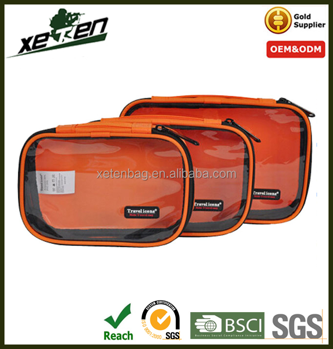 Foldable travel bags packing cubes 3 piece packing set