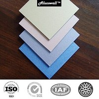 Colourful ACP of matt finish, PE/PVDF coated, 3mm/4mm/5mm, Indoor/outdoor decoration wall panel