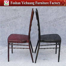 Aluminum Chiavari Chair Funky Black Color Furniture for Wedding , Party YC-A21-54