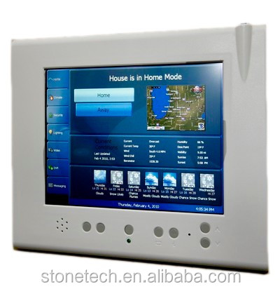 smart touch display with command set&software for home automation