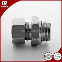 Straight Male Connector Stainless Steel Tube Fitting