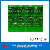 5 branch factory Gold figer board metal detector pcb circuit board manufacture in china