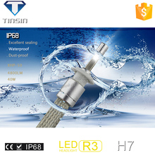 New arrival car head light 12-24V 40w,80w IP68 ETI Chip h3 h4 h7 h11 h13 9004 9006 9007 9005 car headlight for honda city