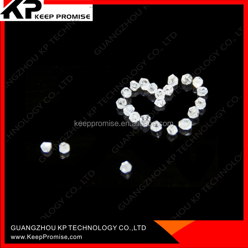 White color rough uncut synthetic diamond price synthetic rough diamond