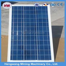 flexible dimension Chinese 18V130W poly PV solar panel
