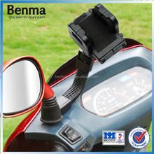 Universal scooter/electric bike/motorcycle mobile holder,GPS holder,rearview mirror clamp phone holder