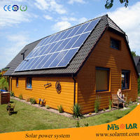 2kw solar energy power electric generator container home system