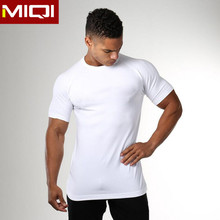 Mens Gym Clothing Fitness Compression Shirt Sportswear Wholesale Gym T Shirt For Men
