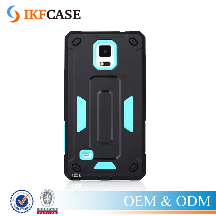 Have Stock ! Wholesale Cell Phone Case for Samsung Galaxy Note 4 Hard Armor Case