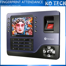 KO-RL90 Fingerprint time attendance finger print time card calculator