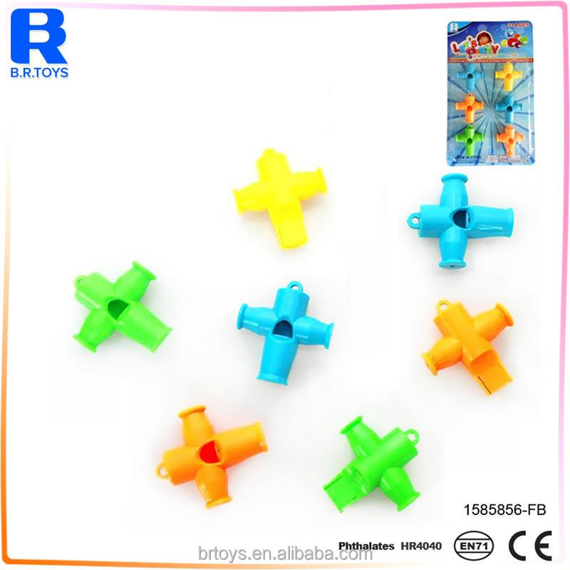 Cheap toy novelty whistle toys with new design