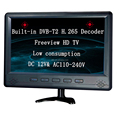"12 V DC 17"" soalr TV with built-in HD Freeview tunner DVB-T2 receiver /H.264/DVB-T HD TV"