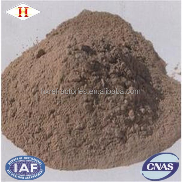 HX unshaped refractory materials alkaline vibration refractory material