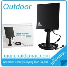 Outdoor 3000mw 150M High Gain Wifi USB Adapter (WD-N9808)