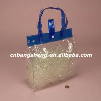New economic custom plastic shopping bag with handle