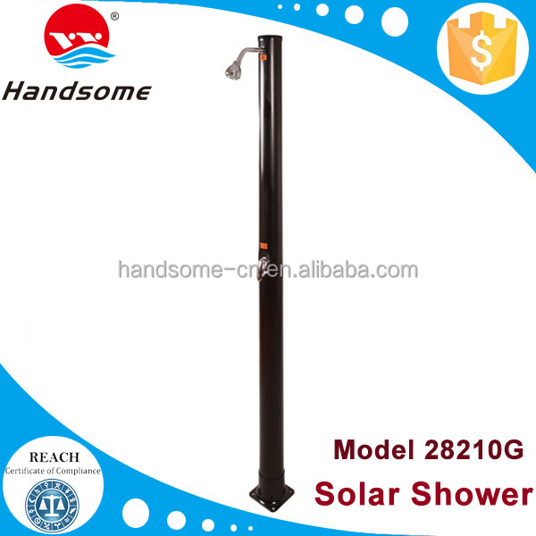 Top quality China manufacture sun energy pool equipment straight solar heating shower