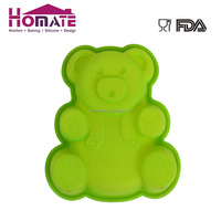 Silicone bear cake shape mold Funny cartoon bear silicone cake mold