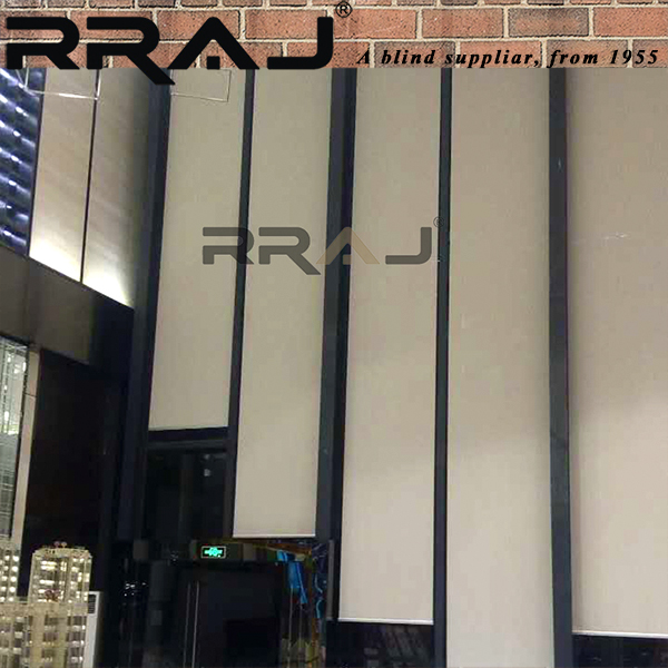 RRAJ Motor Tubular Block-out Custom Motorized Blinds