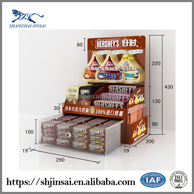 Candy Display Shelves Chewing Gum Display Stand Pastry Shelf