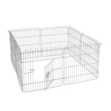 Manufacturer supply galvanized outdoor modular iron wire dog kennel
