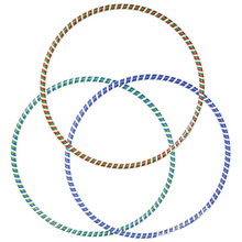 wholesale mixed color flexible PVC hula hoop
