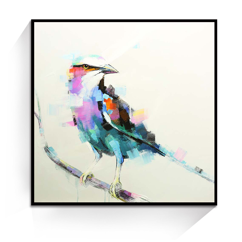 JC Home Decoration Birdie Mould Animal Canvas Oil Painting For Living Room ANI-14B