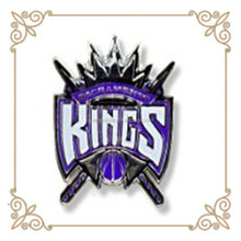 Personalize Metal Kings Logo Pin