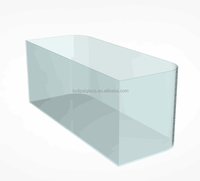 Custom High Quality Curve Ultra Clear Glass Aquarium/Fish Tank