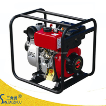 4 inch flow 100 m3/h lift head 30m air cooled portable diesel water pump