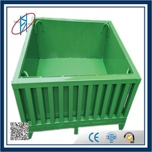 Popular Heavy Duty Euro Pallet Type Boxpallets And Steel Pallet Box