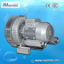 Double stage Air blower for vegetables cleaning agent