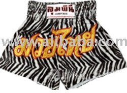 Muay Thai Shorts (Zebra Design)