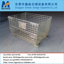 Industrial welded steel Wire mesh zinc containers
